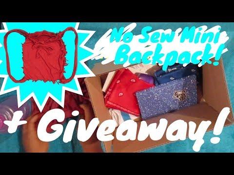 DIY NO SEW BAG!!! + Win free stuff