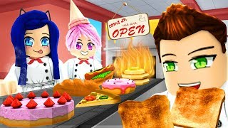 Creating the BEST Roblox Bakery! He stole my customers!