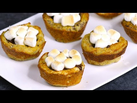 S'mores French Toast Cups