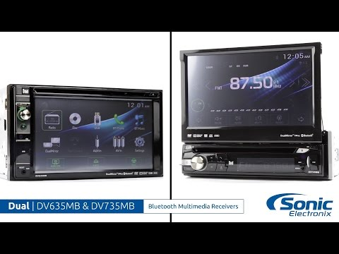 Dual DV635MB & DV735MB Bluetooth Multimedia Receivers   Product Overview