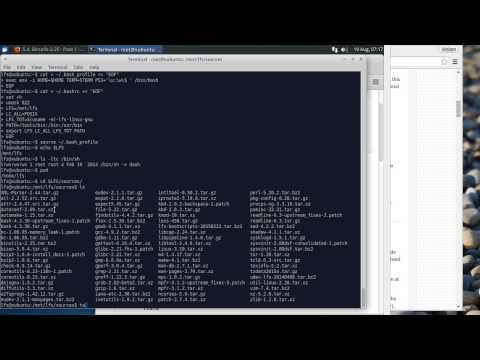 Tutorial: Linux from Scratch (Part 1/4)