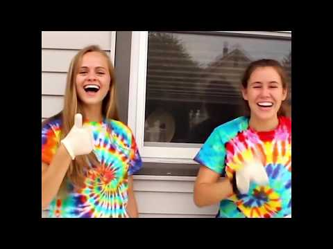 DIY-How To Get Rainbow Spiral Tie Dye  T Shirt In Just 6 Steps