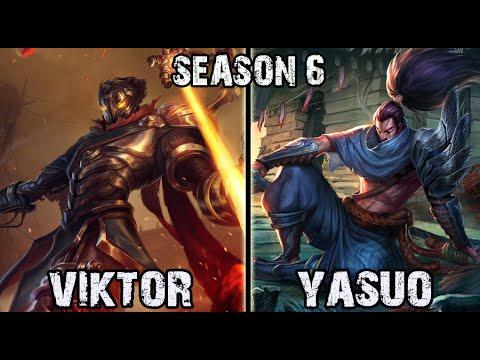 SKT T1 Faker Viktor vs Yasuo MID Ranked Challenger Korea