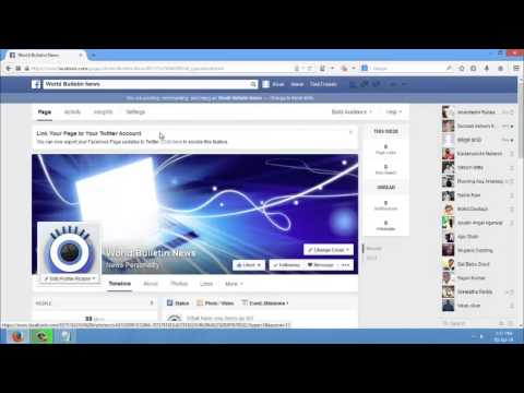 How to make & change the facebook page admin