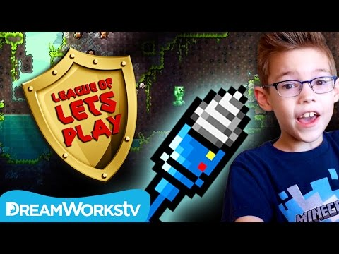 How to Get a Drill in Terraria  | LEAGUE OF LET'S PLAY