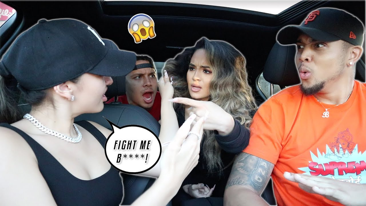 ARGUING IN FRONT OF OUR BOYFRIENDS PRANK!! *GETS HEATED* W/ JUJU & DES