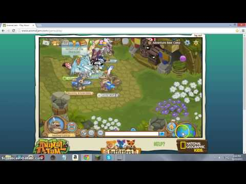 How To Get FREE Items on Animal jam in the adventure