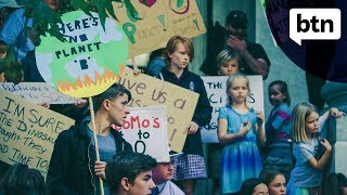 Download Australian students join strike for climate change inaction - Behind the News Video