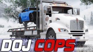 GTA 5 RolePlay | DOJRP On Patrol EP 16: Tow Truck Joe 10-8