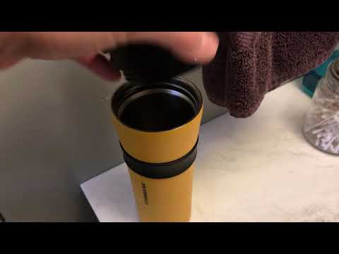 Starbucks Stainless Steel Coffee Tumbler Exploded