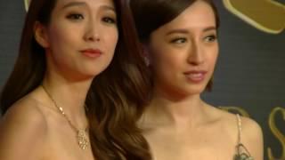 Katy Kung,  姚子羚 Elaine Yiu & Ben Wong 黃智賢, Camera B, Red Carpet, Golden Awards, NTV7
