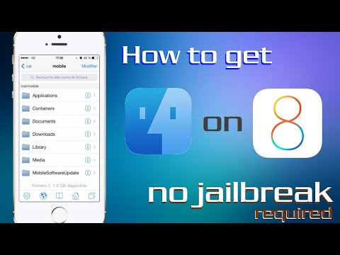 How to get Ifile on iOS 8 and Above Update