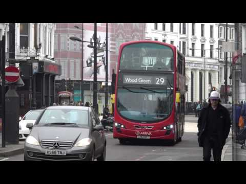 Londons Buses at Camden Town 18th Dec 2016