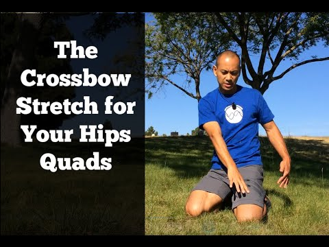 Upgrade Your Hip & Quad Stretches - #2 Cross Bow Lift