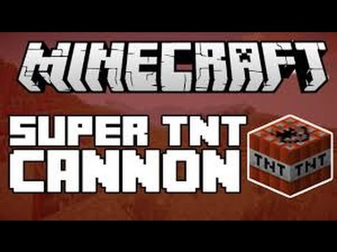 Minecraft: Xbox One Edition The Best TNT Cannon I ever created