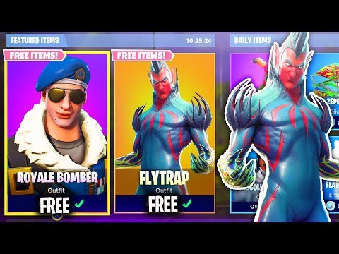 How To Unlock The 'FLYTRAP' Skin for FREE! New Fortnite Skins Update! (FREE SKINS UPDATE)