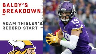 Download Why Adam Thielen is UNSTOPPABLE   NFL Film Review Video