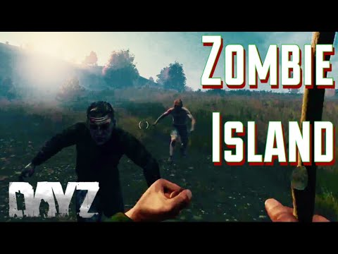 Surviving ZOMBIE Island in Dayz Standalone
