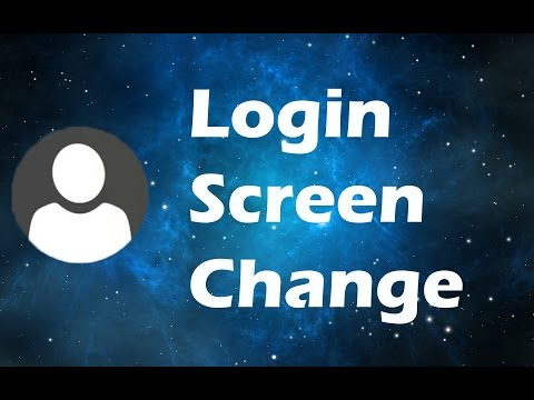 How to change the login screen in Windows 10