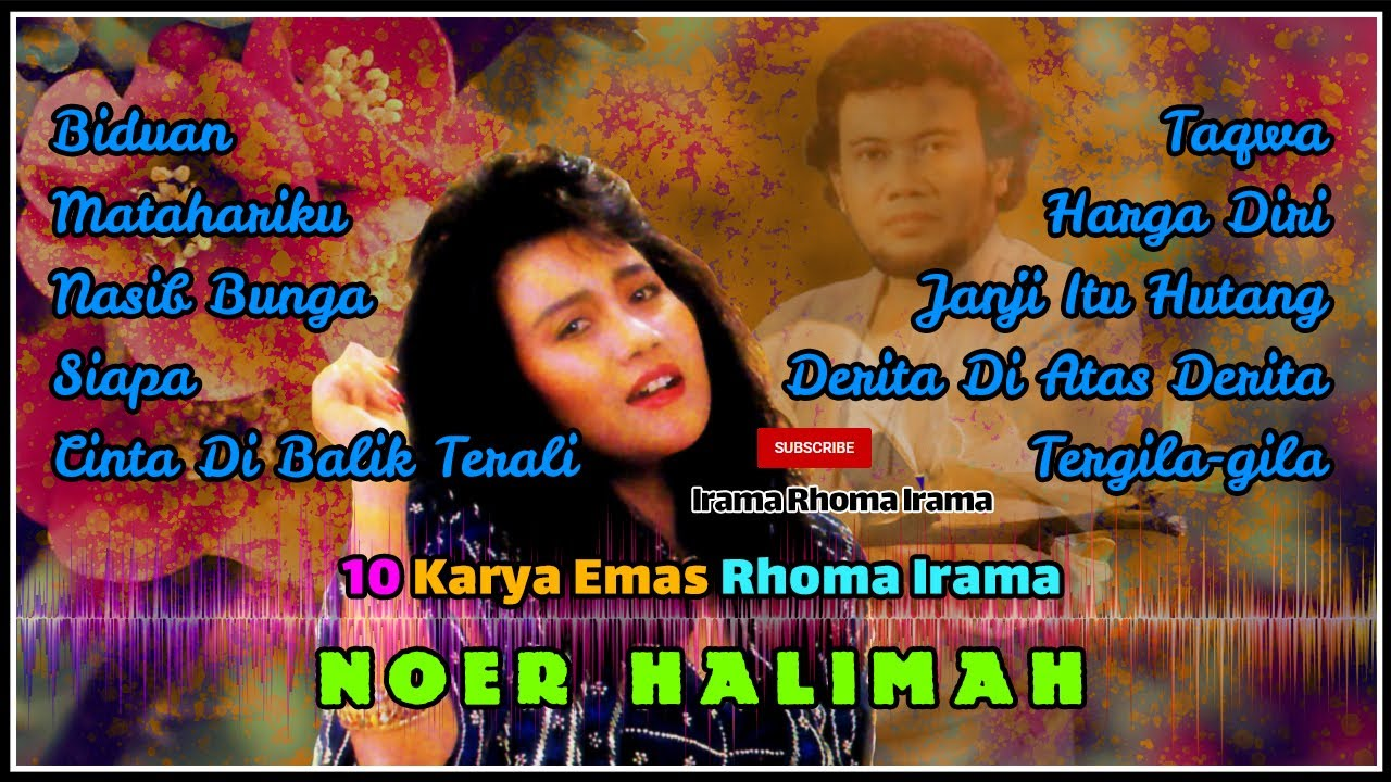 Download 10 Karya Emas Rhoma Irama presented by Noer Halimah MP3 Gratis