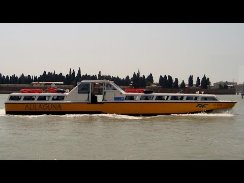 Alilaguna Waters Bus, Blue line, Marco Polo Airport