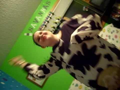 savanna cow costume
