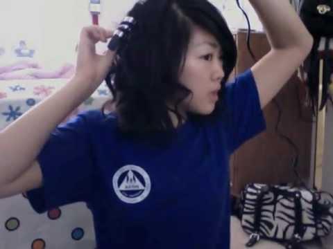 Short Hair: Spiral Curls