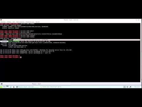 Configuración de un Servidor SSH en Opensuse 13.2