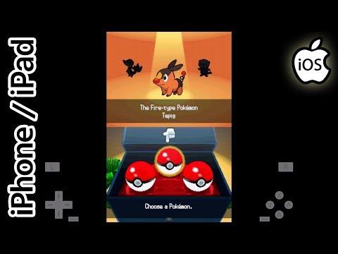 Pokemon Black   Happy Chick Emulator   iPhone / iPad / iOS [1080p]   Nintendo DS