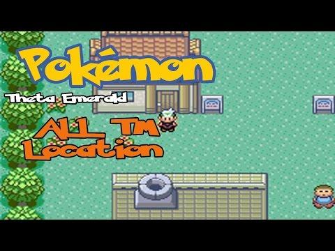 Pokémon Theta Emerald Ex - TM Location