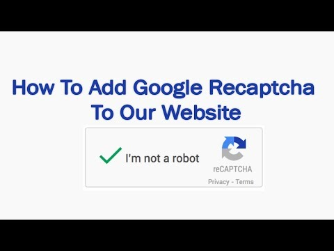 How To Add Google Recaptcha V2 to HTML Form and Submit - html css javascript