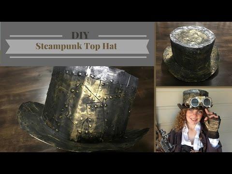 DIY | Steampunk Top Hat (Cardboard)