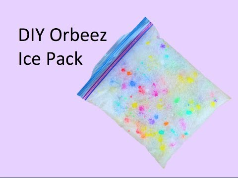 DIY Orbeez Ice Pack