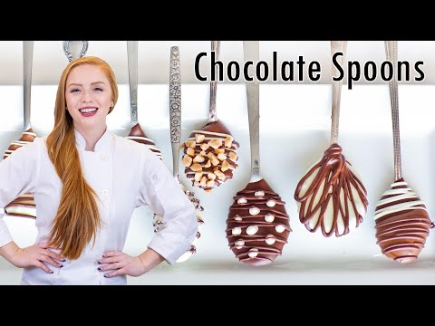 Chocolate Covered Coffee Spoons