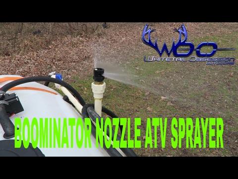 atv attachments BOOMINATOR NOZZLE FOR ATV SPRAYER