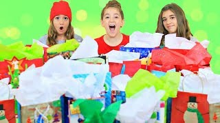 Christmas In July Mystery Bag Slime Challenge!