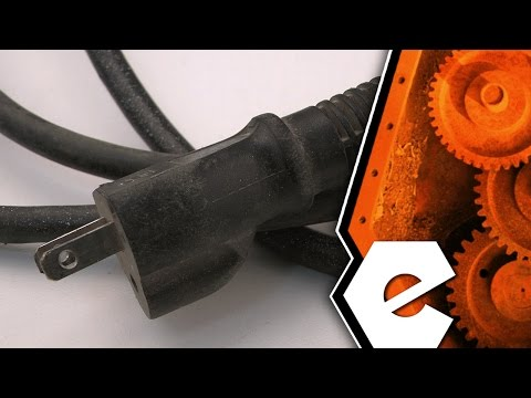 Belt Sander Repair - Replacing the Power Cord (Porter Cable Part # 879182)