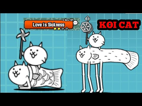 Love is Sickness (Koi Cat) | The Battle Cats