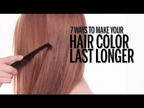 7 Ways to make your HAIR color last longer I Health Tips