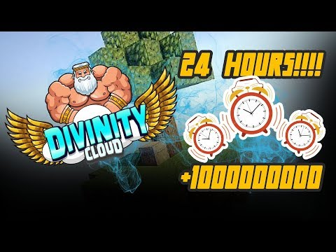 OPENING 5 MONTHLY CRATES! + 5 MILL IN 5 MINUTES! *INSANE* | DivinityCloud #3 (Minecraft SkyBlock)