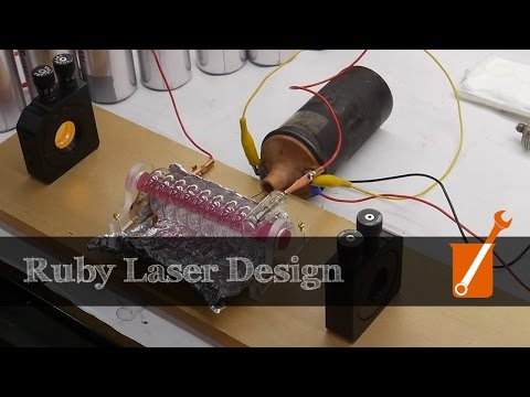 Ruby laser design process