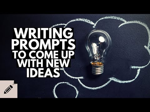 How to use Writing Prompts to come up with Story Ideas