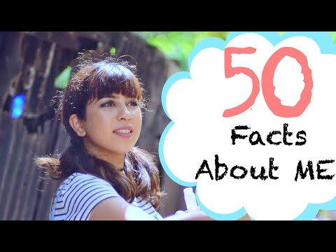 50 RANDOM AND NOT SO RANDOM FACTS ABOUT ME | With Love Inaaya