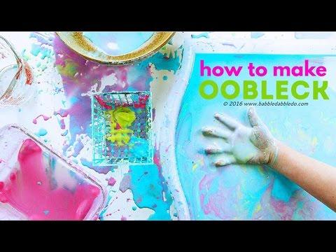 How to Make Oobleck | CREATIVE BASICS Episode 3