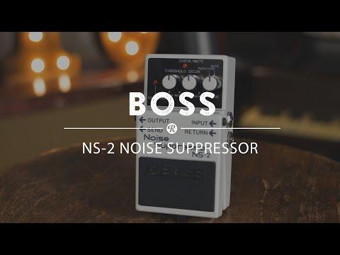 Boss NS-2 Noise Suppressor   Reverb Demo Video