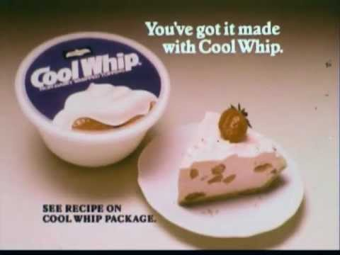 Jello and Cool Whip Pie commercial