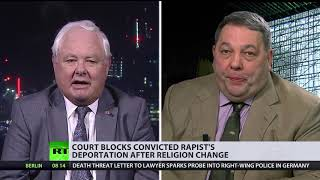 Deport or remain? Judge allows migrant rapist to stay in UK after he 'converted' to Christianity