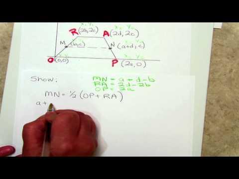 Midsegment Formula