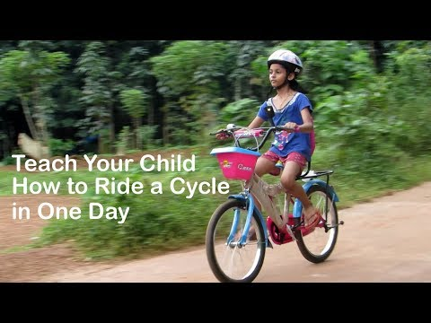 How to Learn Cycling in One Day: Teach Your Child to Ride Bike | Cycling