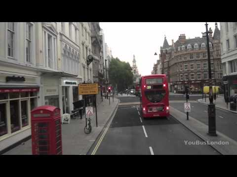 LONDON OLYMPIC BUS - SPEEDED UP - No 11, Victoria to Liverpool Street